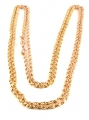 9ct Rose Gold Long Guard Chain