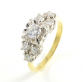 18ct Gold Diamond Seven Stone Ring