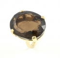 9ct Smokey Quartz Ring