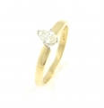 14ct Gold Marquise Cut Diamond Ring