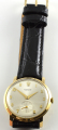 9ct Gold Gents Rolex Watch on Leather Strap